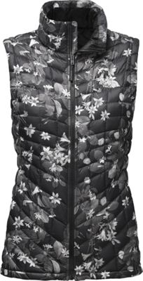 The North Face Womens Thermoball Vest XS - TNF Black Late Bloomer Print - The North Face Women's Apparel
