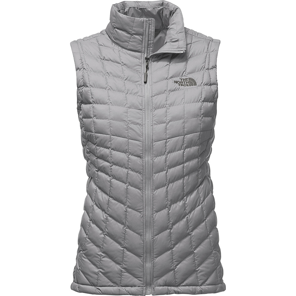 The North Face Womens Thermoball Vest XL - Mid Grey Matte - The North Face Womens Apparel - Apparel & Footwear, Women's Apparel