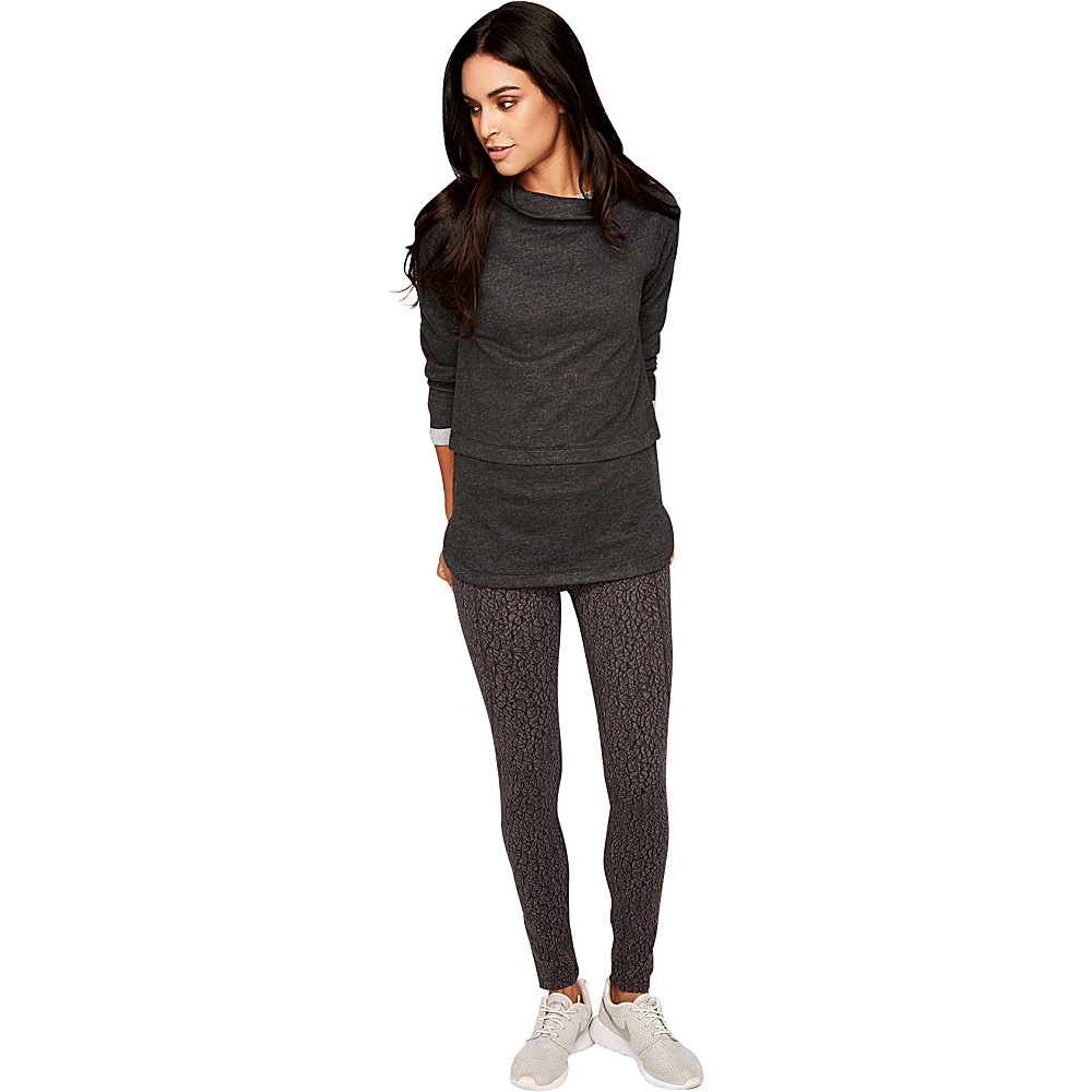 Lole Sadah Tunic XS - Black Heather - Lole Womens Apparel - Apparel & Footwear, Women's Apparel