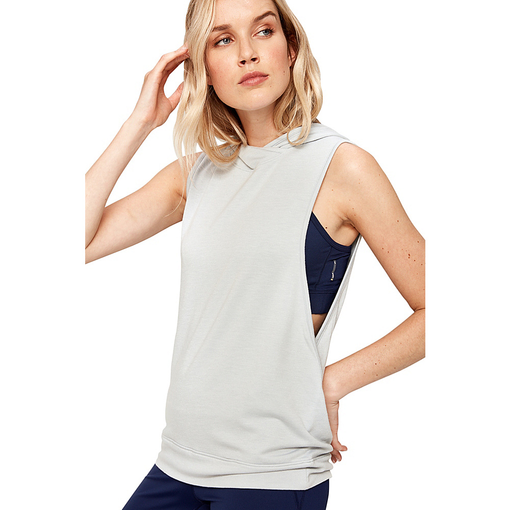 Lole May Top M - Light Grey Heather - Lole Womens Apparel - Apparel & Footwear, Women's Apparel