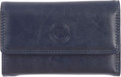 Club Rochelier Slim Clutch Wallet Navy - Club Rochelier Women's Wallets