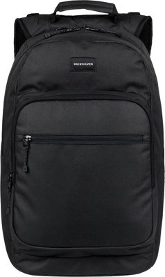 Quiksilver Schoolie Special 25L Medium Laptop Backpack Black - Quiksilver Laptop Backpacks