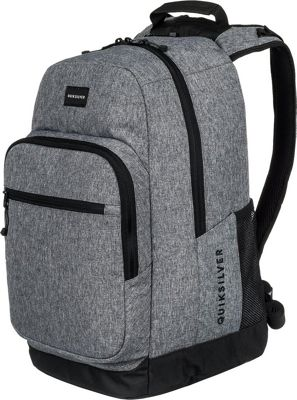 Quiksilver Schoolie Special 25L Medium Laptop Backpack Light Grey Heather - Quiksilver Laptop Backpacks