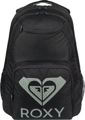 Roxy Shadow Swell Logo 24L Medium Laptop Backpack Anthracite - Roxy Laptop Backpacks