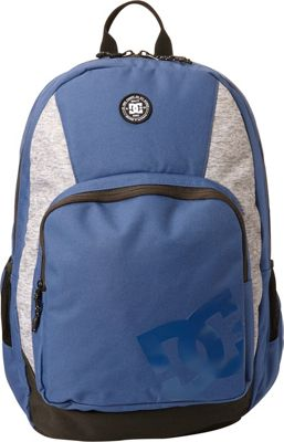 DC Shoes Men's The Locker 23L Medium Laptop Backpack Washed Indigo - DC Shoes Laptop Backpacks