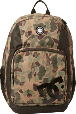 DC Shoes Men's The Locker 23L Medium Laptop Backpack Duck Camo - DC Shoes Laptop Backpacks