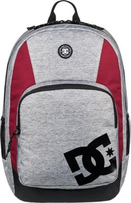 DC Shoes Men's The Locker 23L Medium Laptop Backpack Grey Heather - DC Shoes Laptop Backpacks
