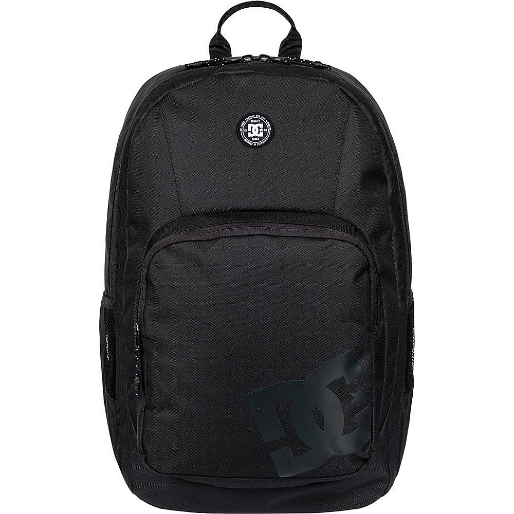 DC Shoes Men's The Locker 23L Medium Laptop Backpack Black - DC Shoes Laptop Backpacks