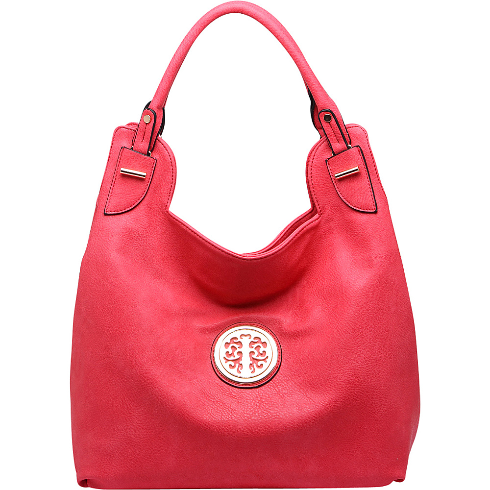 MKF Collection by Mia K. Farrow Aryanna Satchel Red - MKF Collection by Mia K. Farrow Manmade Handbags - Handbags, Manmade Handbags
