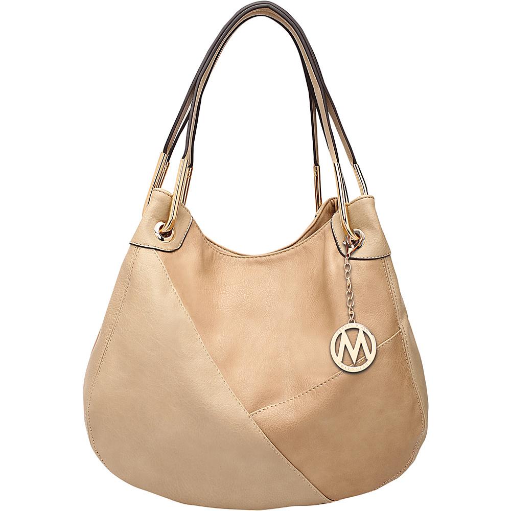 MKF Collection by Mia K. Farrow Delle Hobo Taupe - MKF Collection by Mia K. Farrow Manmade Handbags - Handbags, Manmade Handbags