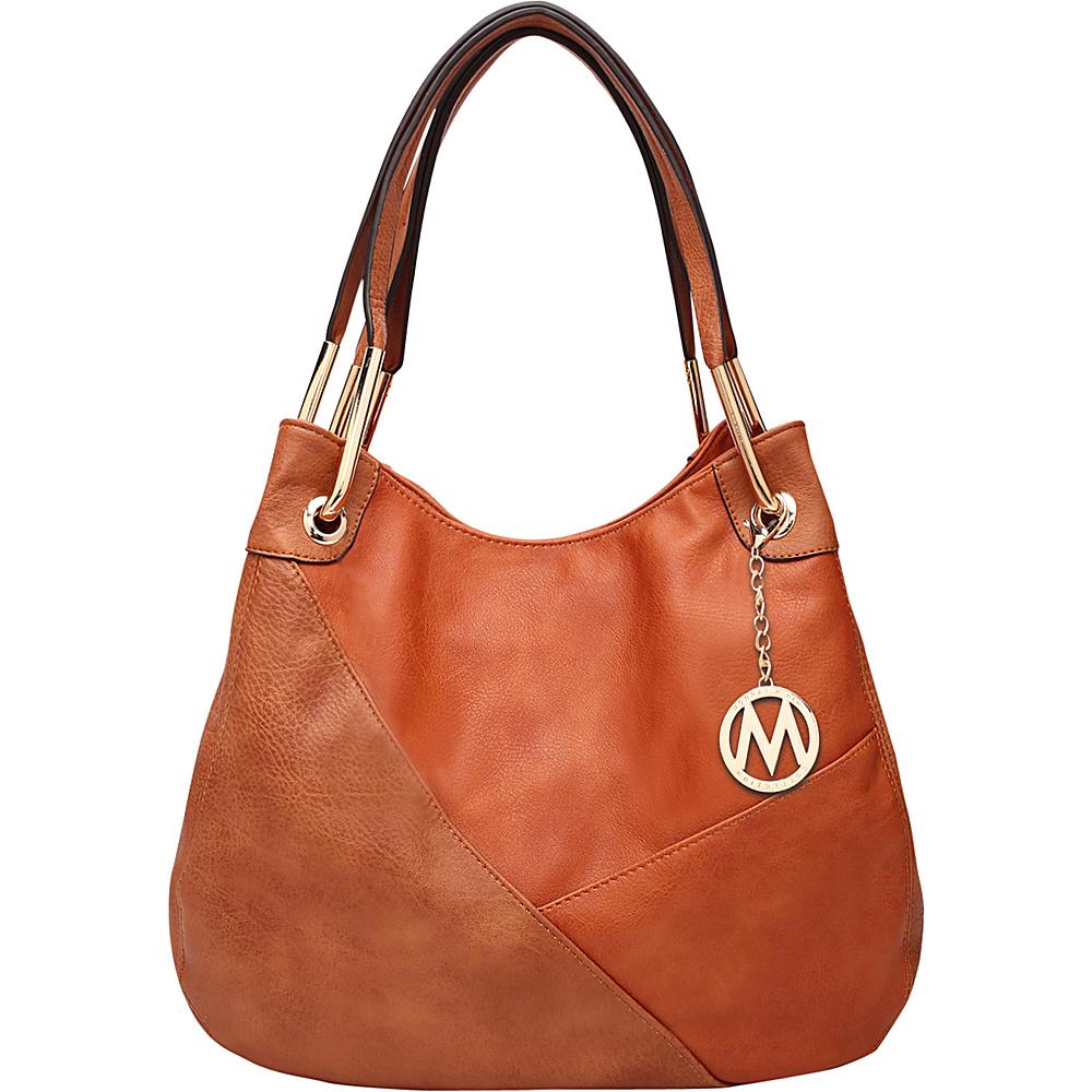 MKF Collection by Mia K. Farrow Delle Hobo Brown - MKF Collection by Mia K. Farrow Manmade Handbags - Handbags, Manmade Handbags
