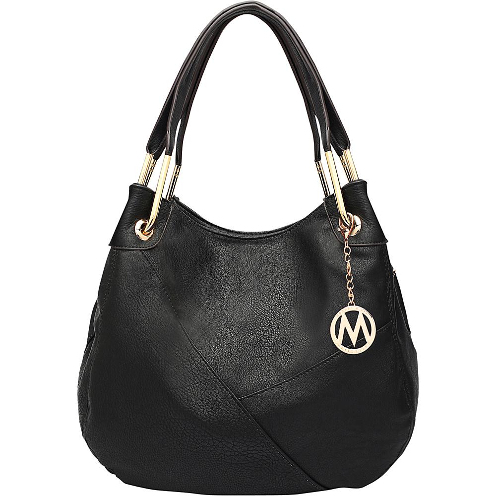 MKF Collection by Mia K. Farrow Delle Hobo Black - MKF Collection by Mia K. Farrow Manmade Handbags - Handbags, Manmade Handbags