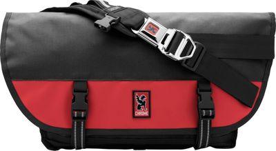 Chrome Industries Citizen Messenger Black/Red - Chrome Industries Messenger Bags