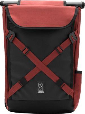 Chrome Industries Bravo 2.0 Laptop Backpack Brick/Black - Chrome Industries Business & Laptop Backpacks