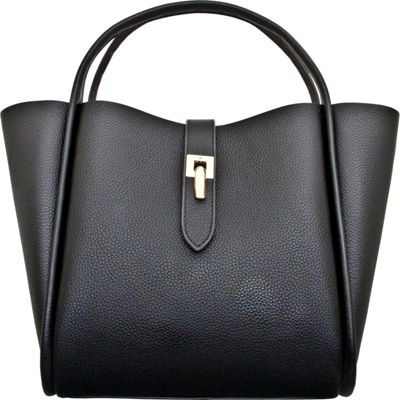 Leatherbay Leatherbay Cecita Tote Black - Leatherbay Leather Handbags