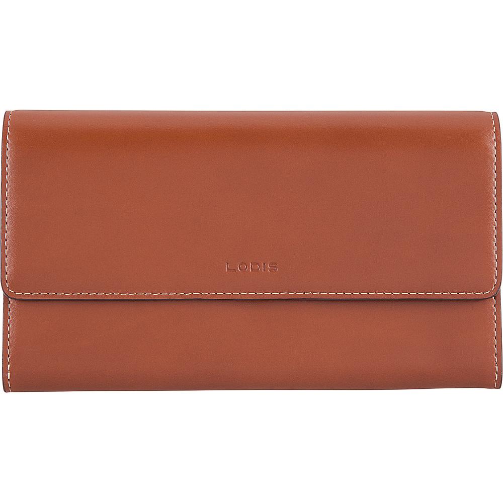 Lodis Audrey RFID Luna Clutch Wallet Sequoia/Papaya - Lodis Womens Wallets - Women's SLG, Women's Wallets