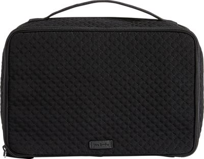 Vera Bradley Iconic Large Blush & Brush Case Classic Black - Vera Bradley Women's SLG Other