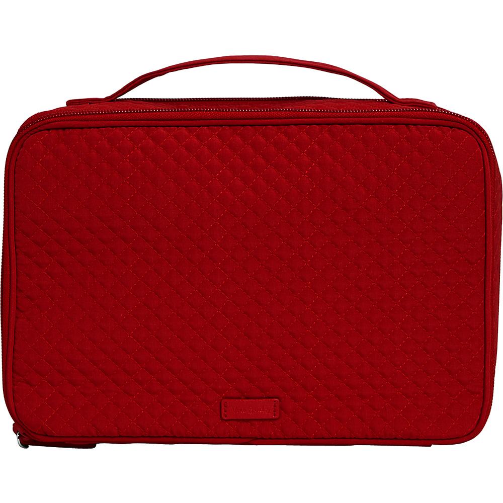 Vera Bradley Iconic Large Blush & Brush Case Cardinal Red - Vera Bradley Womens SLG Other - Women's SLG, Women's SLG Other