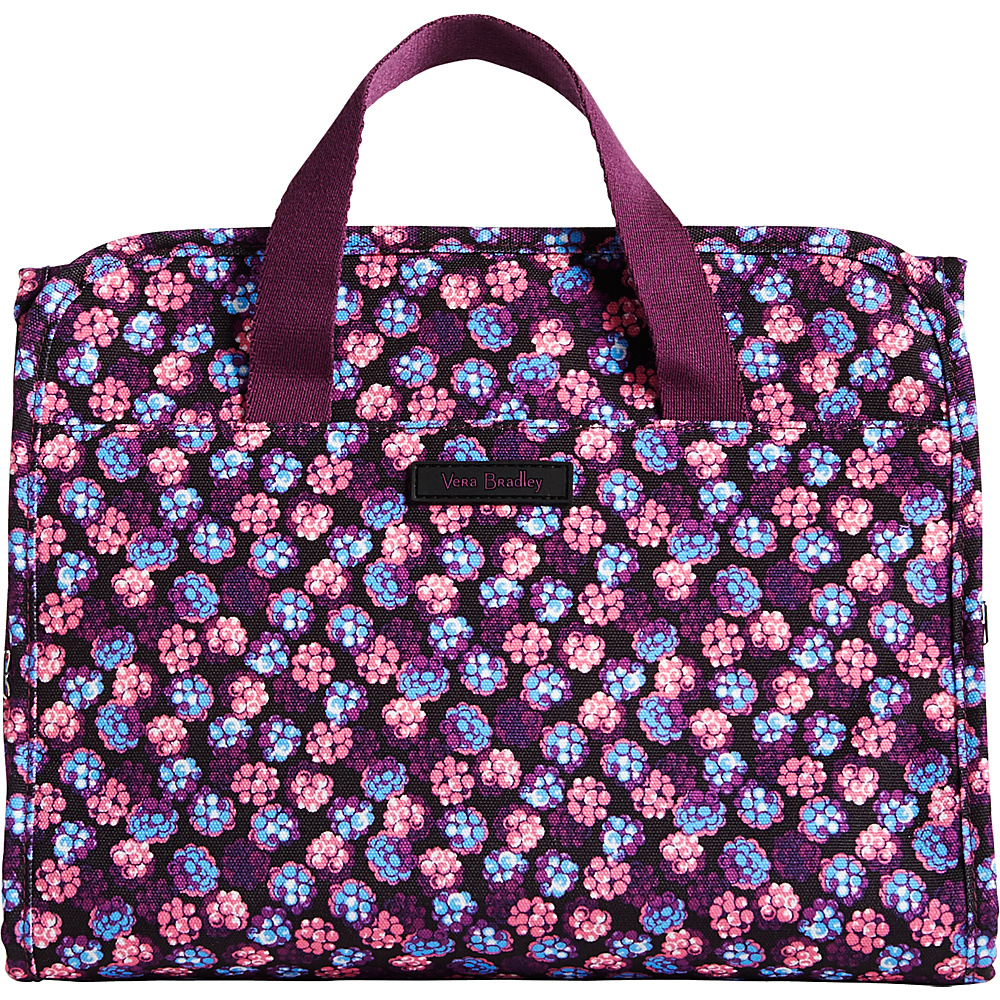 Vera Bradley Lighten Up Hanging Travel Organizer Berry Burst - Vera Bradley Toiletry Kits - Travel Accessories, Toiletry Kits