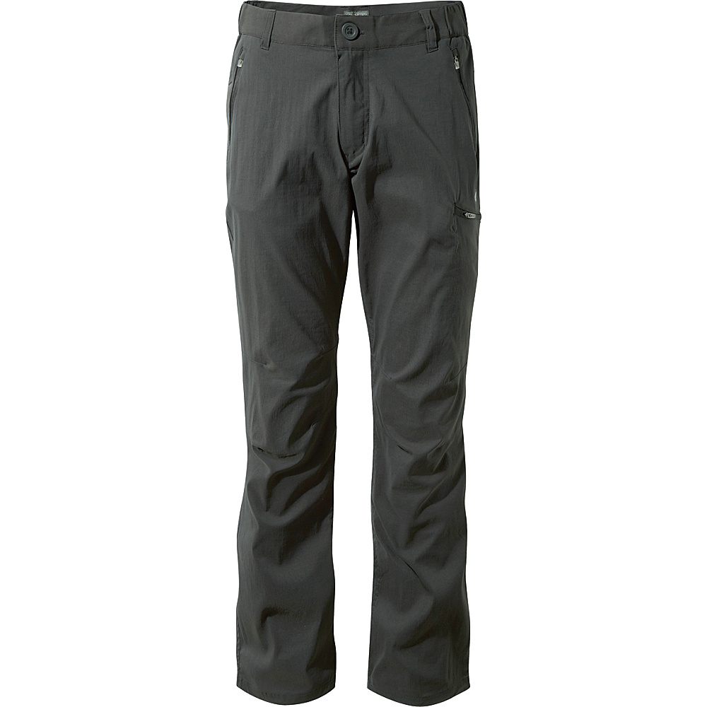 Craghoppers Nat Geo Kiwi Pro Trousers 38 - Short - Dark Lead - Craghoppers Mens Apparel - Apparel & Footwear, Men's Apparel