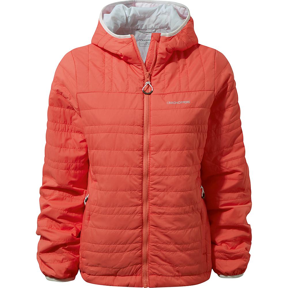 Craghoppers Nat Geo CompressLite II Jacket 10 - Dawn Red - Craghoppers Womens Apparel - Apparel & Footwear, Women's Apparel