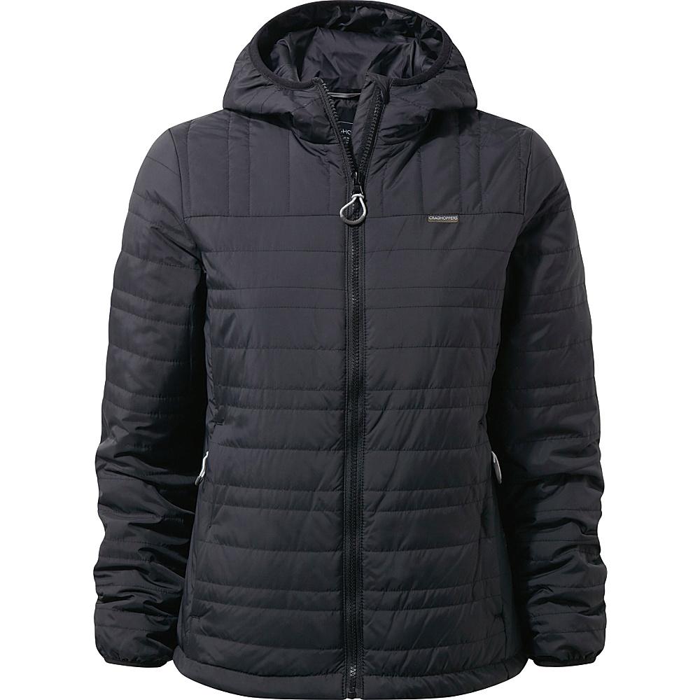 Craghoppers Nat Geo CompressLite II Jacket 8 - Black/Black - Craghoppers Womens Apparel - Apparel & Footwear, Women's Apparel