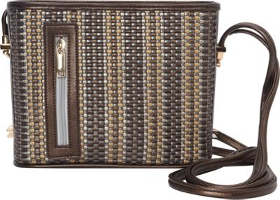 Samoe Samoe Convertible Crossbody Multi Metallic Woven/Bronze - Samoe Manmade Handbags