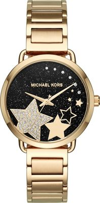 Michael Kors Watches Portia Watch Gold - Michael Kors Watches Watches