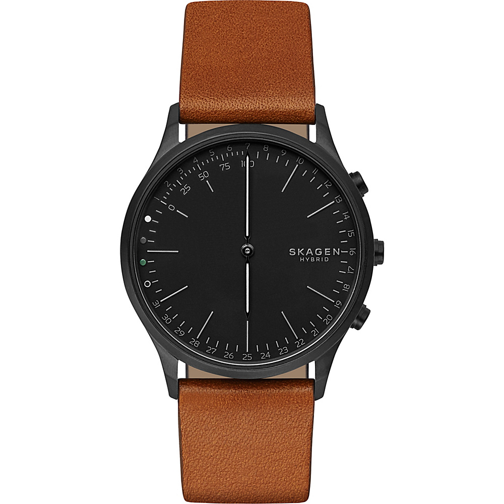 Skagen Jorn Connected Hybrid Watch Brown - Skagen Wearable Technology