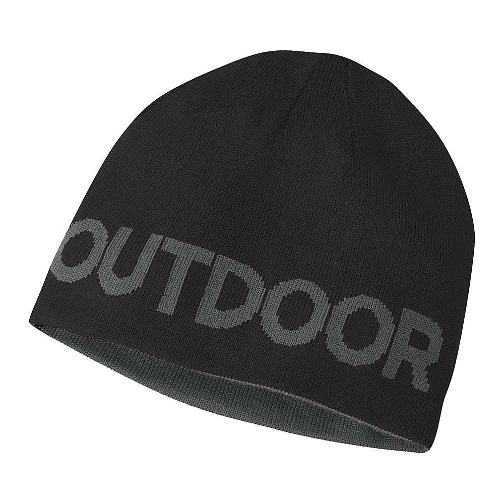 Outdoor Research Booster Beanie One Size - Black/Charcoal - Outdoor Research Hats/Gloves/Scarves - Fashion Accessories, Hats/Gloves/Scarves