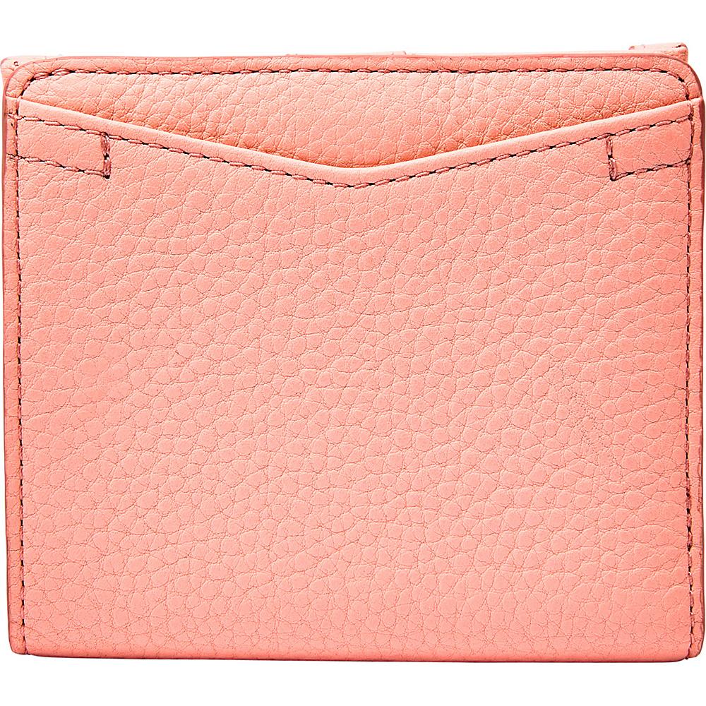 Fossil Caroline RFID Mini Wallet Coral Cloud - Fossil Womens Wallets - Women's SLG, Women's Wallets