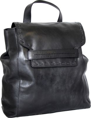 Nino Bossi Caterina Backpack Black - Nino Bossi Leather Handbags