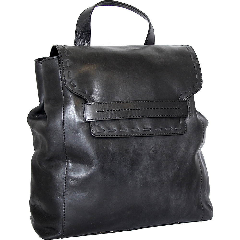 Nino Bossi Caterina Backpack Black - Nino Bossi Leather Handbags - Handbags, Leather Handbags