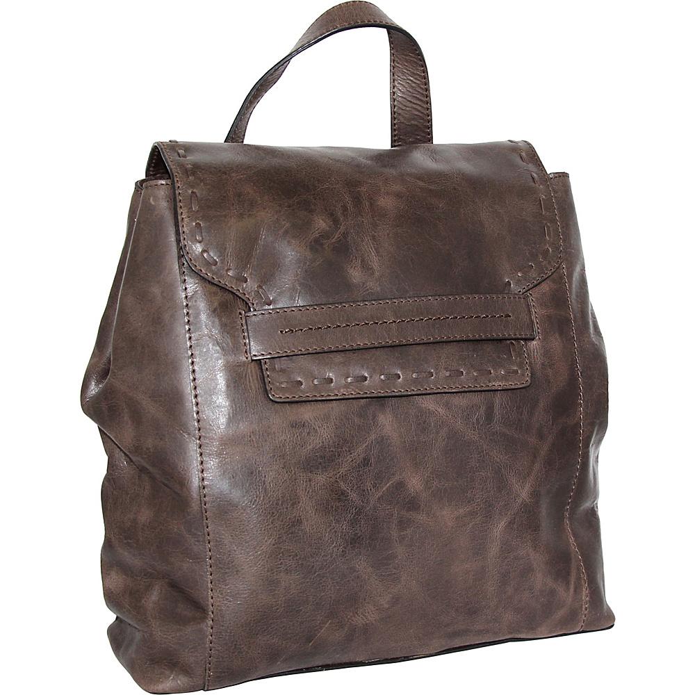 Nino Bossi Caterina Backpack Chocolate - Nino Bossi Leather Handbags - Handbags, Leather Handbags