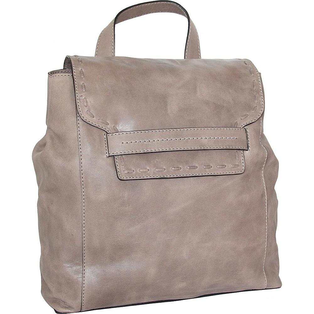 Nino Bossi Caterina Backpack Stone - Nino Bossi Leather Handbags - Handbags, Leather Handbags