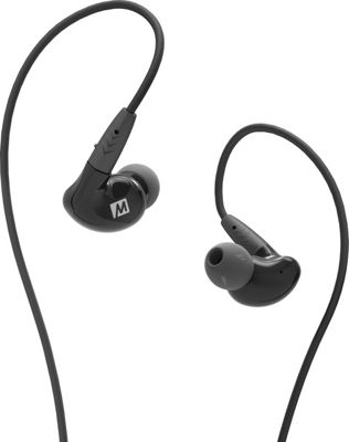 MEE Audio Pinnacle P2 High Fidelity Audiophile In-Ear Headphones Black - MEE Audio Headphones & Speakers
