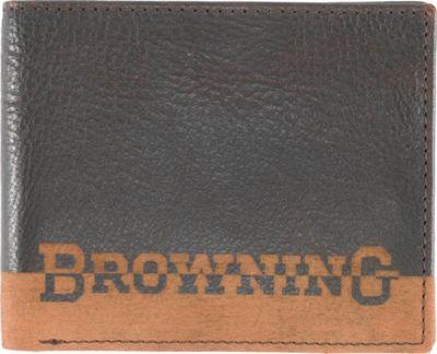 Browning Nomad Bi-Fold Wallet Black - Browning Men's Wallets
