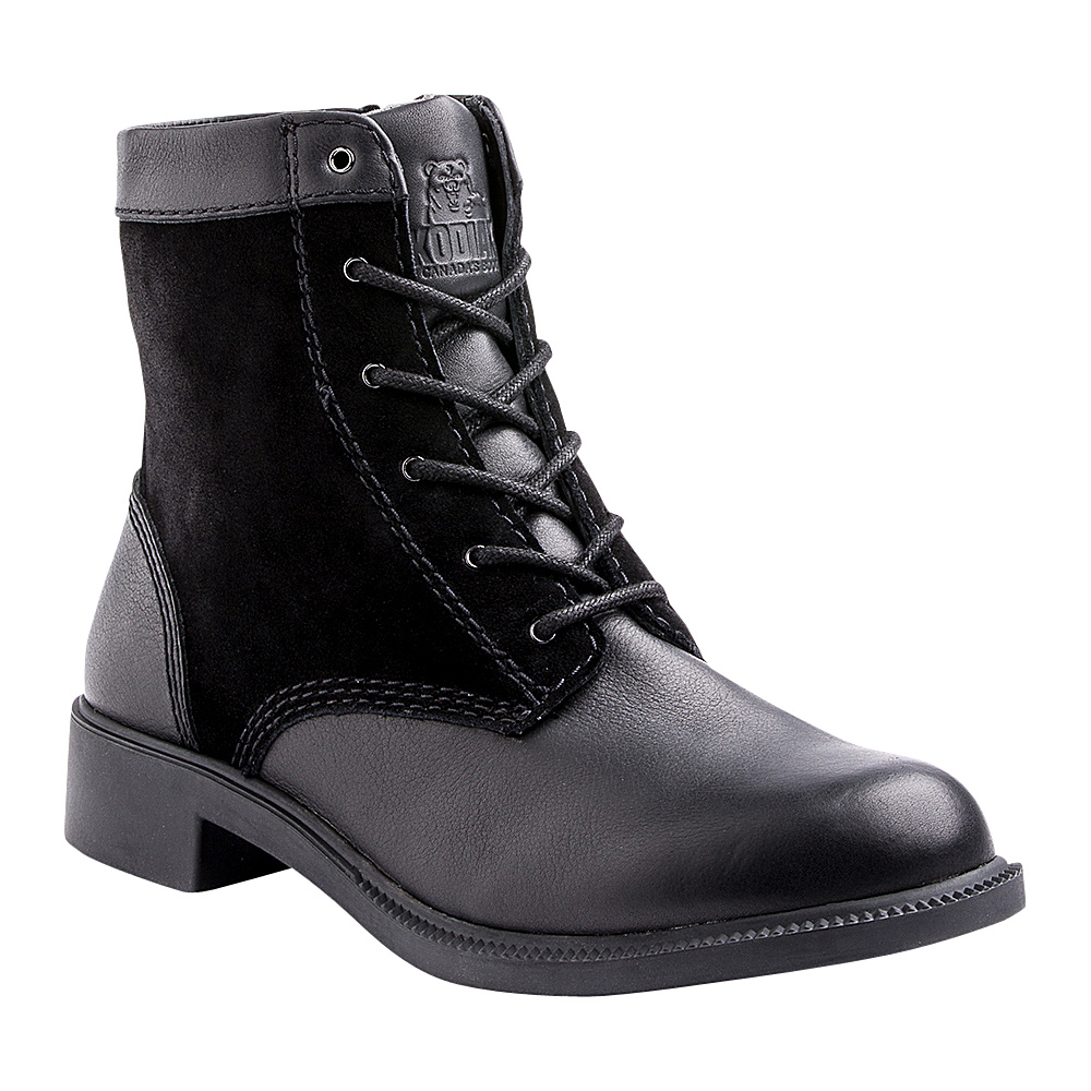 Kodiak Womens Original Zip Boot 6.5 - Black - Kodiak Womens Footwear - Apparel & Footwear, Women's Footwear