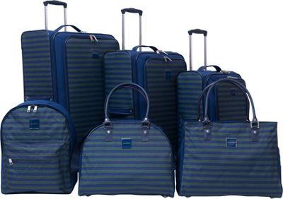 Isaac Mizrahi Ingram 6 Piece Luggage Set Green - Isaac Mizrahi Luggage Sets