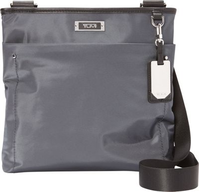 Tumi Capri Crossbody Exclusive Slate Grey - Tumi Designer Handbags