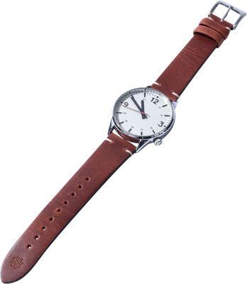 Hook & Albert Leather Vintage Watch Strap Brown - Hook & Albert Watches