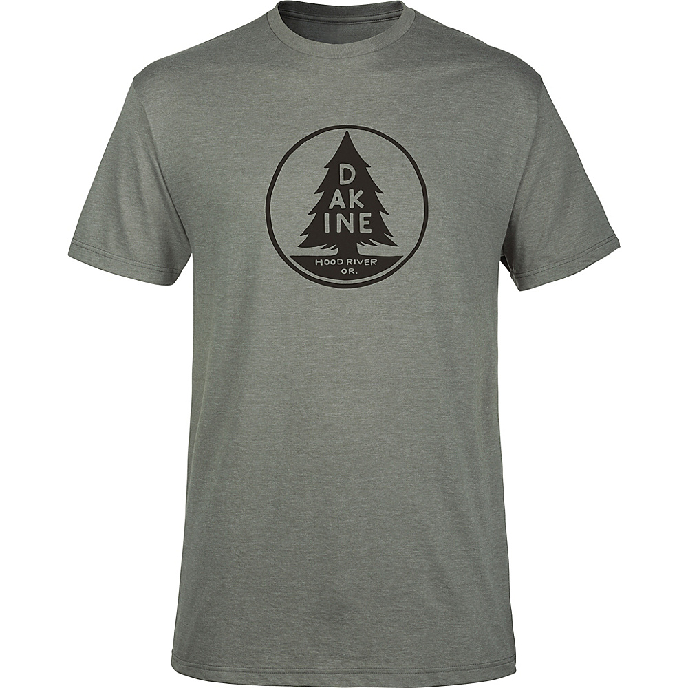 DAKINE Mens Lone Pine T-Shirt S - Platinum Heather - DAKINE Mens Apparel - Apparel & Footwear, Men's Apparel