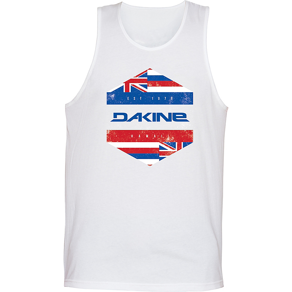 DAKINE Mens Da Hawaii Tank S - White - DAKINE Mens Apparel - Apparel & Footwear, Men's Apparel