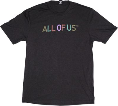 All of Us Mens Crew Tee XL - Black Frost/Multi - All of Us Men's Apparel