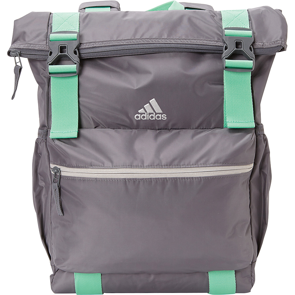 43e11cdf64 adidas Yola Backpack- eBags Exclusive Colors Onix Green Glow Grey Two -  adidas