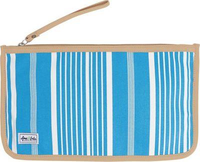 Ame & Lulu Stay Dry Swimsuit Bag Ticking Stripe - Ame & Lulu Packable Bags