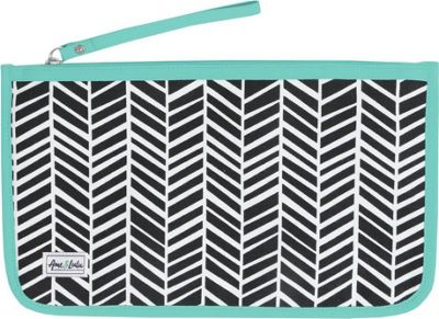 Ame & Lulu Stay Dry Swimsuit Bag Black Shutters - Ame & Lulu Packable Bags