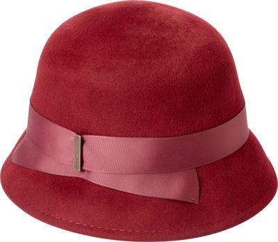 Image of Betmar New York Alcott Hat One Size - Cranberry - Betmar New York Hats/Gloves/Scarves