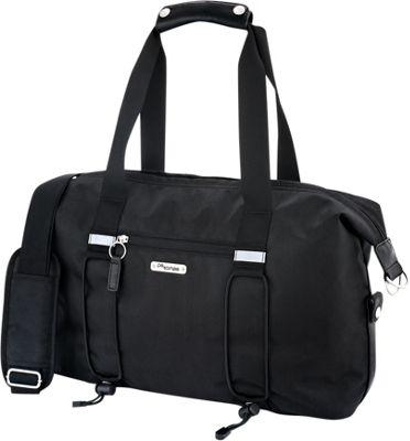 Po Campo Bike Share Bag Black Herringbone - Po Campo Cycling Bags