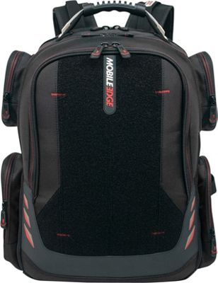 "Mobile Edge Core Gaming 17"""" Charging Backpack Black/Red - Mobile Edge Business & Laptop Backpacks"" 10628410"